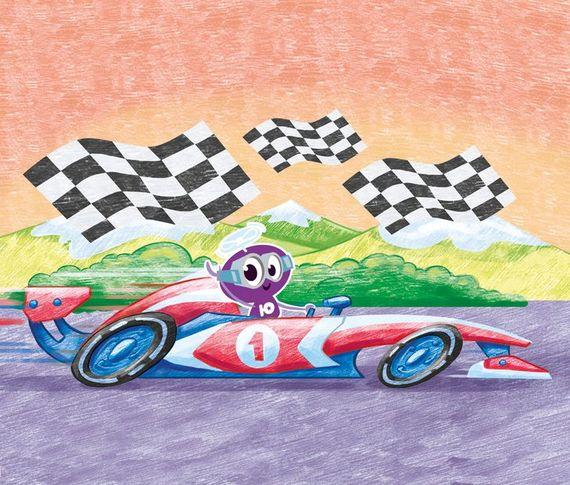 Как нарисовать болид «Формулы-1»